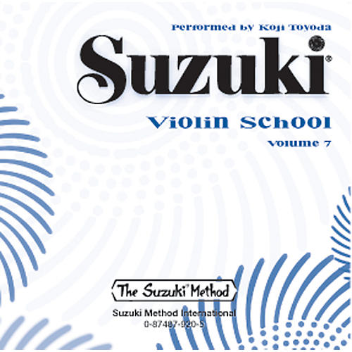 Alfred Suzuki Violin School CD, Volume 7-thumbnail
