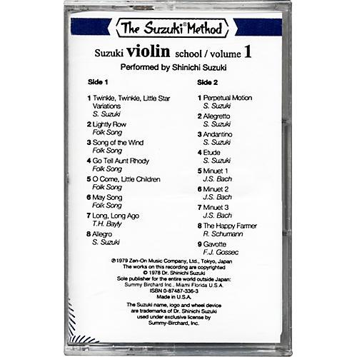 Alfred Suzuki Violin School Cassette Volume 1-thumbnail