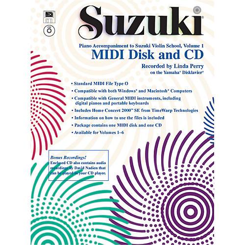 Alfred Suzuki Violin School MIDI Disk Acc./CD-ROM, Volume 1-thumbnail