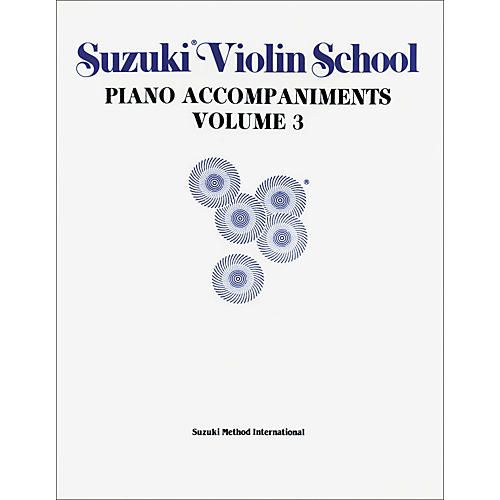 Alfred Suzuki Violin School Piano Accompaniment Volume 3 Textbook