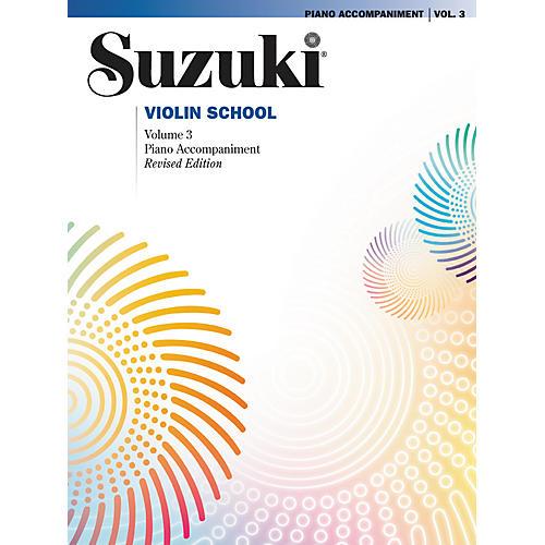 Alfred Suzuki Violin School Piano Accompaniment Volume 3-thumbnail