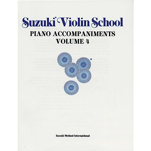 Alfred Suzuki Violin School Piano Accompaniment Volume 4 (Book)