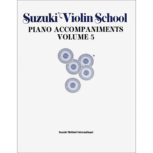 Alfred Suzuki Violin School Piano Accompaniment Volume 5 (Book)