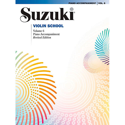 Alfred Suzuki Violin School Piano Accompaniment Volume 6 Book