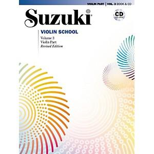 Alfred Suzuki Violin School Violin Part and CD Volume 3 by Alfred