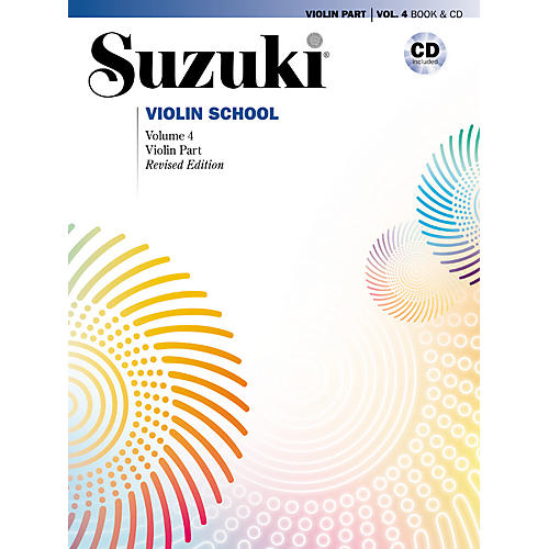 Alfred Suzuki Violin School Violin Part & CD Volume 4-thumbnail