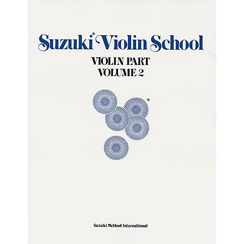 Alfred Suzuki Violin School Violin Part Volume 2 (Book)