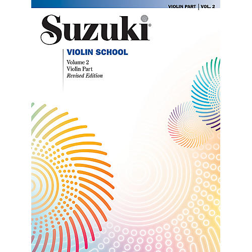 Alfred Suzuki Violin School Violin Part Volume 2-thumbnail