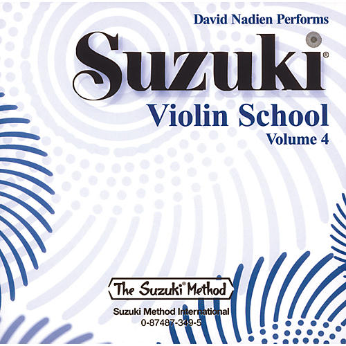 Alfred Suzuki Violin School Volume 4 (CD)
