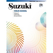Alfred Suzuki Violin School Volume 8 Book & CD (Revised)