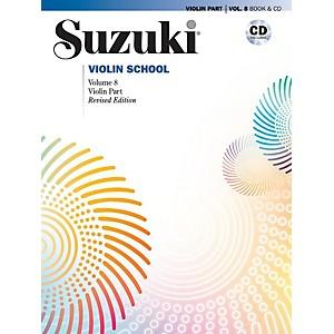 Alfred Suzuki Violin School Volume 8 Book and CD Revised
