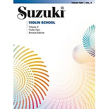 Alfred Suzuki Violin School Volume 8 Book (Revised)