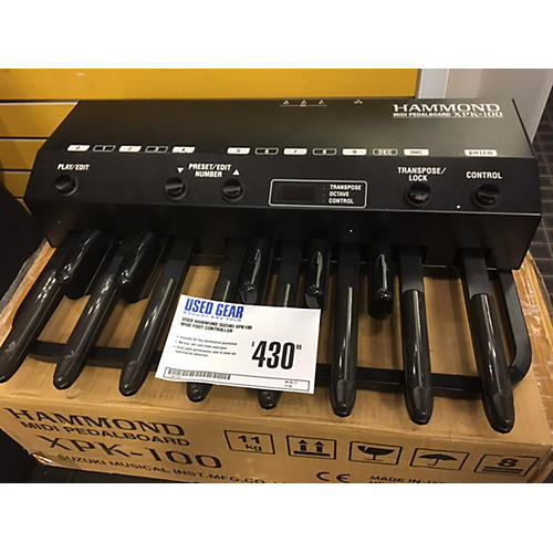 Hammond Suzuki XPK100 MIDI Foot Controller
