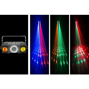 CHAUVET DJ Swarm 4 FX Stage Laser Party Light with LED Wash and Strobe Ligh...