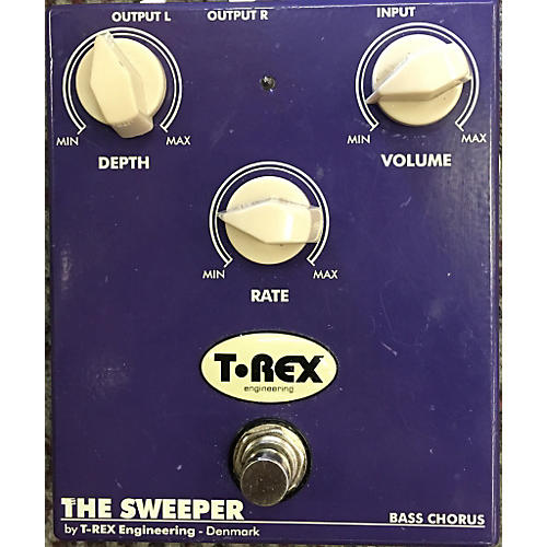 T-Rex Engineering Sweeper Bass Chorus Effect Pedal