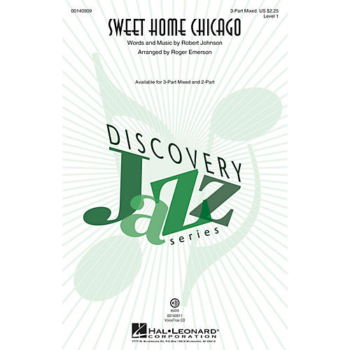 Hal Leonard Sweet Home Chicago (Discovery Level 1) VoiceTrax CD Arranged by Roger Emerson