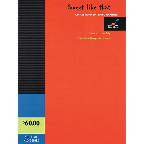 Hal Leonard Sweet Like That - Band Quest Series Level 3-thumbnail
