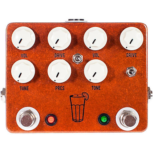 JHS Pedals Sweet Tea 2 in 1 Dual Overdrive Guitar Effects Pedal-thumbnail