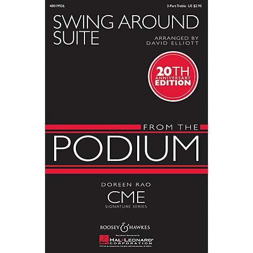 Boosey and Hawkes Swing Around Suite (CME From the Podium) Instrumental Accompaniment Arranged by David Elliott