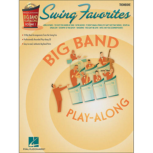 Hal Leonard Swing Favorites Big Band Play-Along Vol. 1 Trombone Book/CD-thumbnail