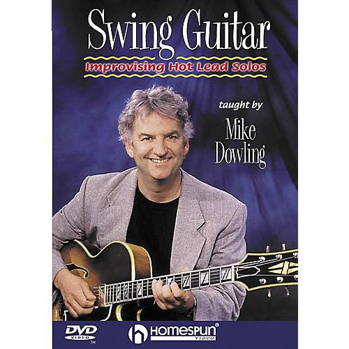 Homespun Swing Guitar - Improvising Hot Lead Solos (DVD)