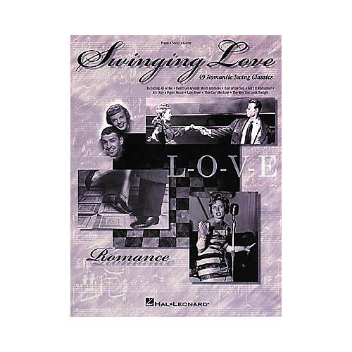 Hal Leonard Swinging Love Piano, Vocal, Guitar Songbook-thumbnail