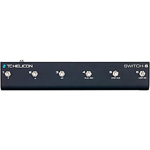 TC Helicon Switch-6 Guitar Footswitch