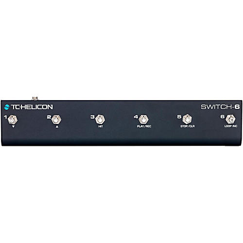 TC Helicon Switch-6 Guitar Footswitch-thumbnail