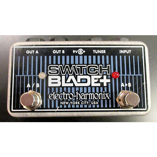 Electro-Harmonix Switchblade+ Channel Selector Footswitch Pedal-thumbnail
