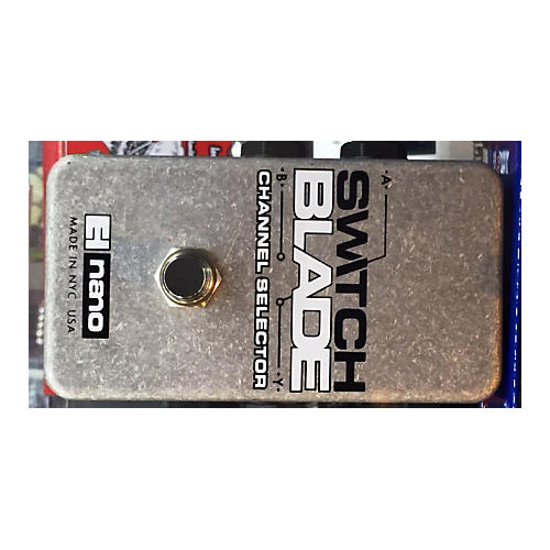 Electro-Harmonix Switchblade Nano Channel Selector Footswitch Pedal
