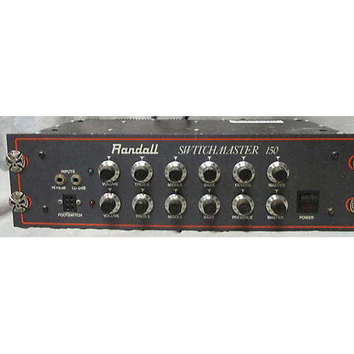 used randall switchmaster 150 solid state guitar amp head guitar center. Black Bedroom Furniture Sets. Home Design Ideas