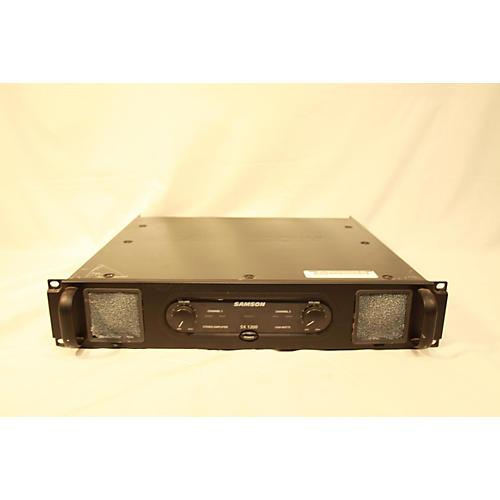 used samson sx1200 power amp guitar center. Black Bedroom Furniture Sets. Home Design Ideas
