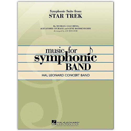 Hal Leonard Symphonic Suite from Star Trek Concert Band Level 4-thumbnail