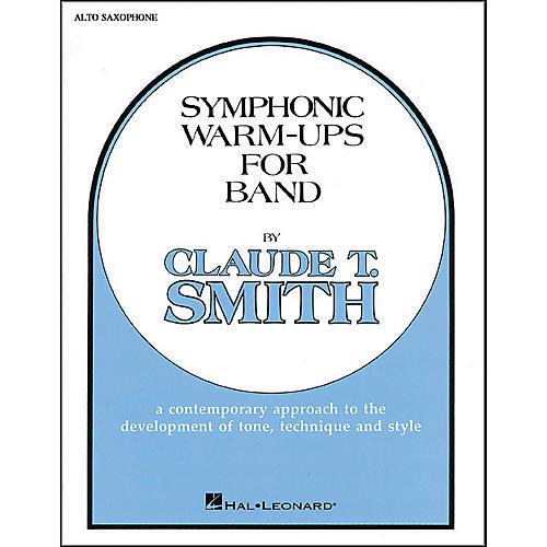 Hal Leonard Symphonic Warm-Ups For Band For E Flat Alto Saxophone
