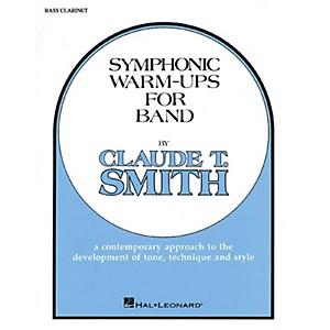 Hal Leonard Symphonic Warm-Ups for Band Bb Bass Clarinet Concert Band Lev... by Hal Leonard