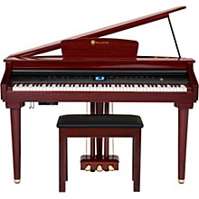 Williams Symphony Grand Digital Piano with Bench (Mahogany) Level 1 Red