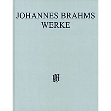 G. Henle Verlag Symphony No 3 in F Maj Op 90 Henle Complete Edition Hardcover by Brahms Edited by Robert Pascall