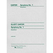 Associated Symphony No. 1 (Study Score) Study Score Series Composed by Elliott Carter
