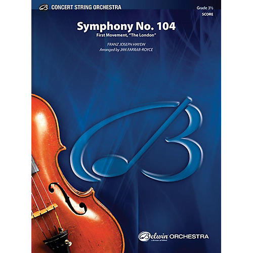 Alfred Symphony No. 104 String Orchestra Grade 3.5