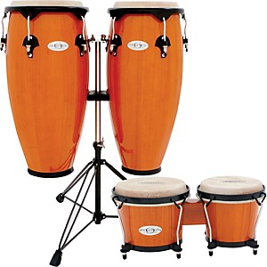 Toca Synergy Conga Set with Stand and Bongos