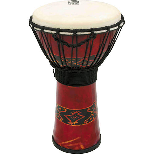 Toca Synergy Freestyle Djembe Red 10 in.