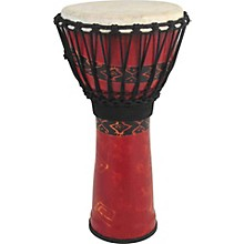 """Toca Synergy Freestyle Djembe Level 1 Red 9"""""""