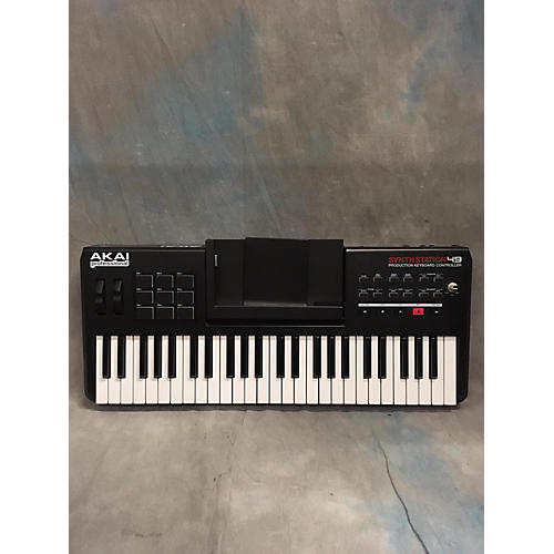 Akai Professional Synth Station 49 Key With IPOD Dock MIDI Controller-thumbnail