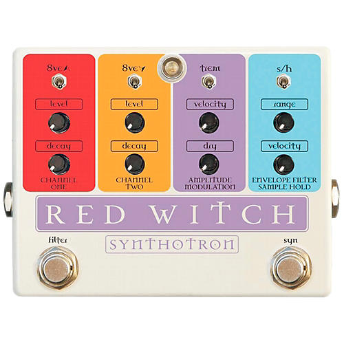 Red Witch Synthotron Guitar Effects Pedal-thumbnail