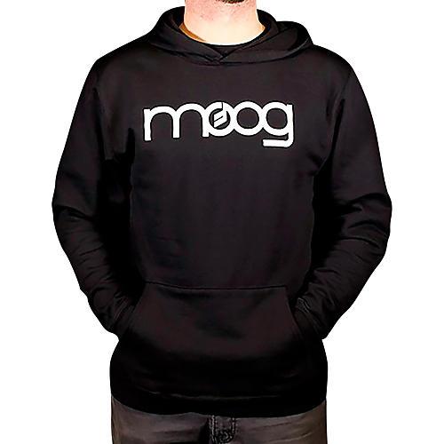Moog System 15 Black Pullover Hoodie Medium