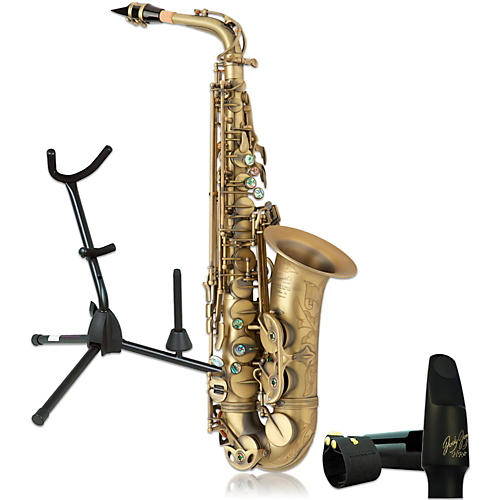 P. Mauriat System-76ADK Professional Dark Lacquered Alto Saxophone Kit-thumbnail