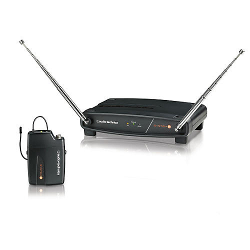 Audio-Technica System 8 Wireless System includes: ATW-R800 Receiver and ATW-T801 UniPak Transmitter