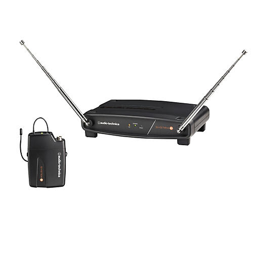 Audio-Technica System 8 Wireless System includes: ATW-R800 Receiver and ATW-T801 UniPak Transmitter-thumbnail