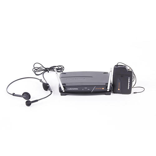 Audio-Technica System 8 Wireless System includes: PRO 8HEcW headworn microphone