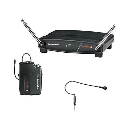 Audio-Technica System 8 Wireless System includes: PRO 92cW headworn microphone